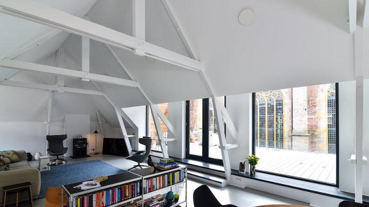 Gerenoveerd gebouw pronkt met energiezuinig ventilatiesysteem