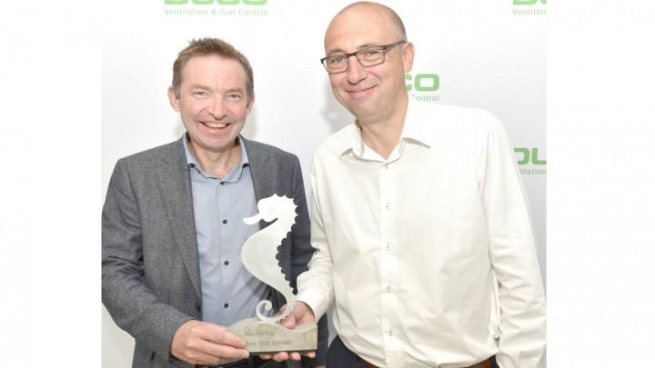 Duco sleept de Van Marcke Eco Award 2019 in de wacht