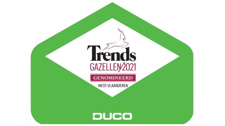 DUCO al vier jaar Trends Gazelle!