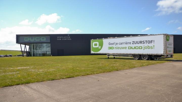Nieuw kantoorgebouw DUCO zorgt voor 30 jobs