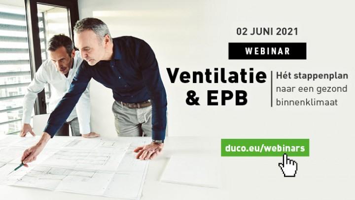 Webinar Ventilatie en EPB  - 2 juni 2021