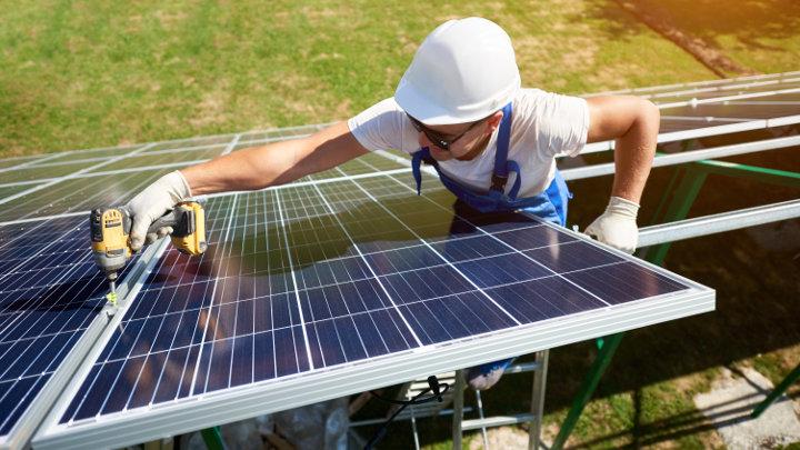 Recyclage van PV-zonnepanelen