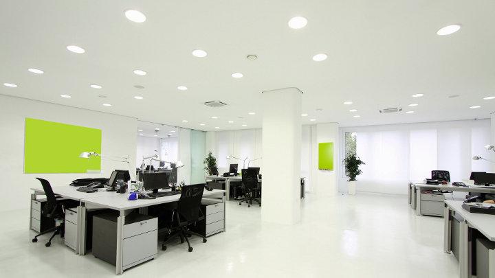 epb norm verlichting in kantoren