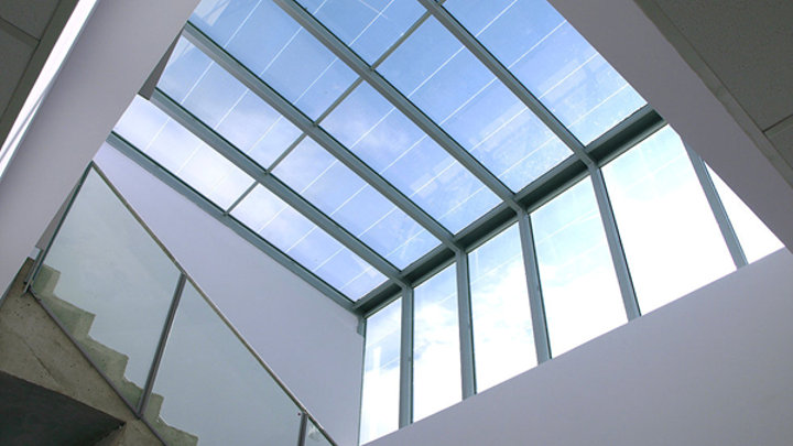 PV-panelen in ramen