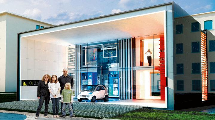Experiment in Berlijn: huis produceert meer energie dan het verbruikt