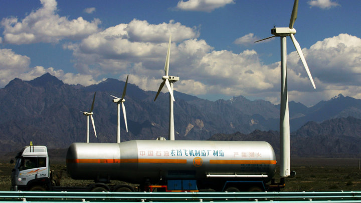 Wind energie productie in China stijgt in 2012 tot 80GW