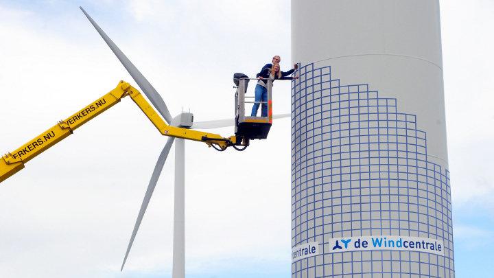 Crowdfunding record voor windmolen in Nederland