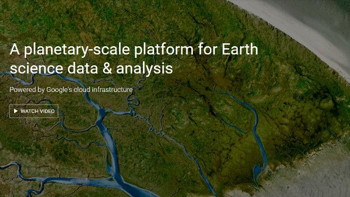 Google earth engine maakt klimaatverandering zichtbaar