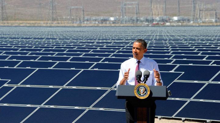 Overgang naar hernieuwbare energie onomkeerbaar