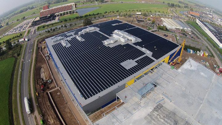 IKEA investeert tegen 2015 2.5 miljard dollar in hernieuwbare energie