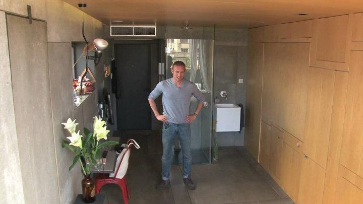 Creatief met ruimte: mini-appartement in Barcelona