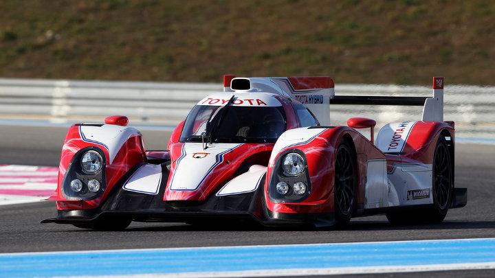 Verschillende hybride wagens tussen deelnemers 24u van Le Mans