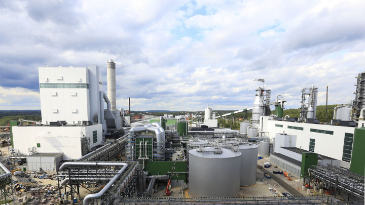 Biomassacentrale Finland