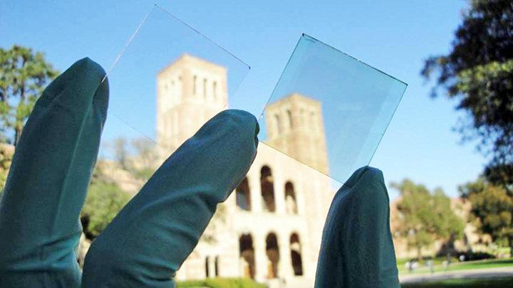 Zonnecellen in glas