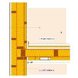 Bouwknopen details - Plafond met balk ...